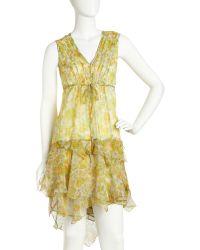 Nanette Lepore Wildflowerprint Dress - Lyst
