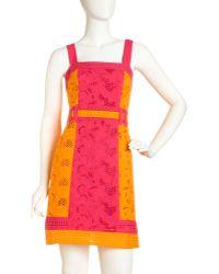 Nanette Lepore Hidden Jungle Dress - Lyst