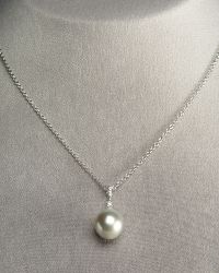 Assael   Gray Pearl Pendant Necklace   Lyst