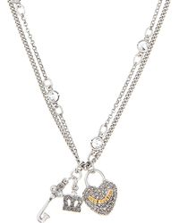 Juicy Couture - Key To Heart Necklace - Lyst