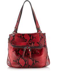 orYANY - Zahara Python print Shoulder Bag - Lyst