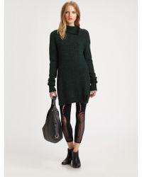 McQ by Alexander McQueen Wool Sweater Dress - Lyst