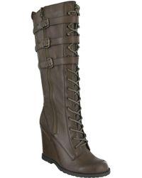 MIA - Ursela Wedge Boots - Lyst