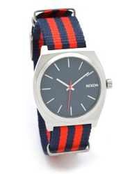Nixon The Time Teller Navy Watch - Lyst
