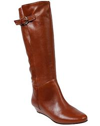 Steve Madden Intyce Knee Boots - Lyst
