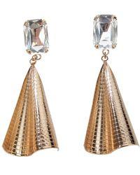 Halaby - Fan Earrings - Lyst