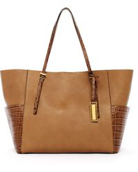 Michael Kors Gia Tote with Pockets Desert - Lyst
