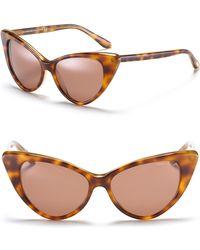 "Tom Ford ""Nikita"" Cat Eye Sunglasses - Lyst"