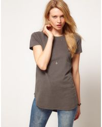 ASOS Collection T-shirt with The Curve - Lyst