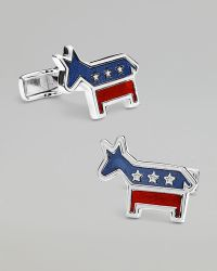 Ravi Ratan - Democratic Donkey Cuff Links - Lyst