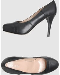 Furla Platform Pumps - Black
