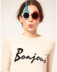 ASOS - Asos Eiffel Tower Sunglasses - Lyst
