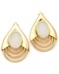 Belle Noel Large Teardrop Earrings - Lyst