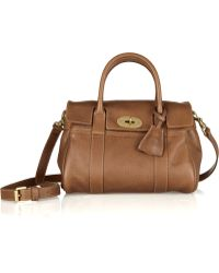Mulberry Small Bayswater Texturedleather Bag - Lyst