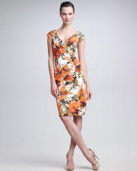 Erdem Tanya Floralprint Dress - Lyst