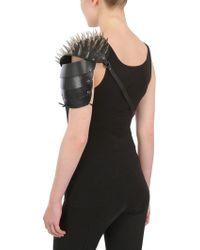 Halaby Gladiator Leather Fashion Extra - Black