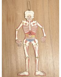 Sasquatchfabrix. Sasquatchfabrix Mens Zenarchy Skull Ornament - Multicolour