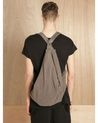 Silent - Damir Doma - Silent By Damir Doma Mens Berocal Backpack Canvas - Lyst