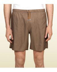 Gucci Diamante Swim Shorts - Lyst