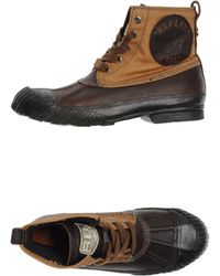 Replay Ankle Boots - Brown