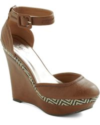 ModCloth Gift For Thrifting Wedge - Lyst