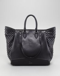 Christian Louboutin Justine Spike Tote - Lyst