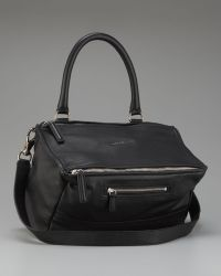 Givenchy Pandora Satchel Medium - Black