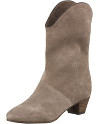 See By Chloé Classic Suede Boots - Lyst