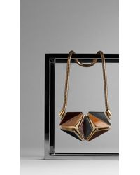 Burberry Inlaid Mosaic Necklace - Lyst