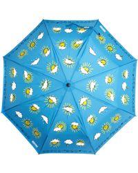 Boutique Moschino - Weather Forecast Umbrella - Lyst