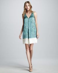 Sachin & Babi Lucia Printed Sleeveless Dress - Lyst