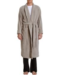 American Essentials - Plush Spa Robe - Lyst