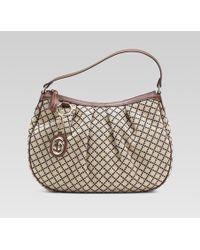 Gucci | Sukey Medium Hobo with Detachable Interlocking G Charm | Lyst