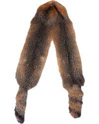 Marni Fox Tail Stole - Lyst