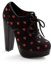 ModCloth Be Boldhearted Heel - Lyst