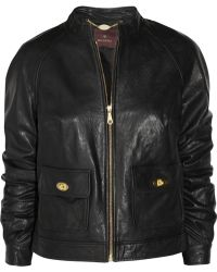 Mulberry Bayswater Leather Biker Jacket - Lyst