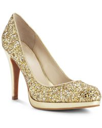 Nine West Rocha Platform Pumps - Lyst