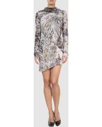Aminaka Wilmont Short Dress - Lyst