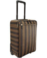 Fendi Pequin Stripe Trolley - Lyst