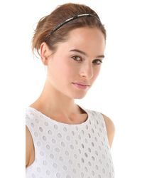 Juicy Couture - Beaded Stretch Headband - Lyst