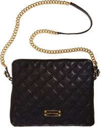 Marc Jacobs Quilted Ipad Case - Black
