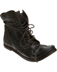 Marsell Glazed Laceup Ankle Boot - Lyst