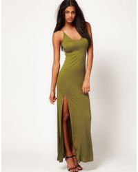 ASOS Collection Asos Maxi Dress with Split - Lyst