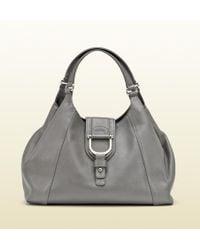 Gucci Greenwich Medium Shoulder Bag With Spur Detail - Lyst