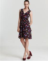 Marc By Marc Jacobs Sleeveless Dress Wild Flower Print - Lyst