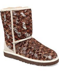 Ugg Ugg® Australia Classic Sparkles Camo Boots - Lyst