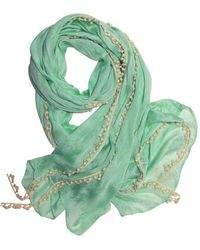 ModCloth Mint To Be Scarf - Lyst