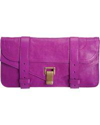 Proenza Schouler Ps1 Pochette Leather - Lyst