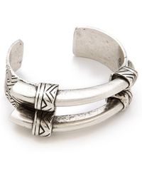 House of Harlow 1960 - Engraved Horn Cuff - Lyst