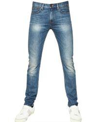 Burberry Brit - Skinny Fit Washed Denim Jeans - Lyst